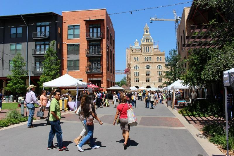 Pearl District and Farmers Market San Antonio Texas